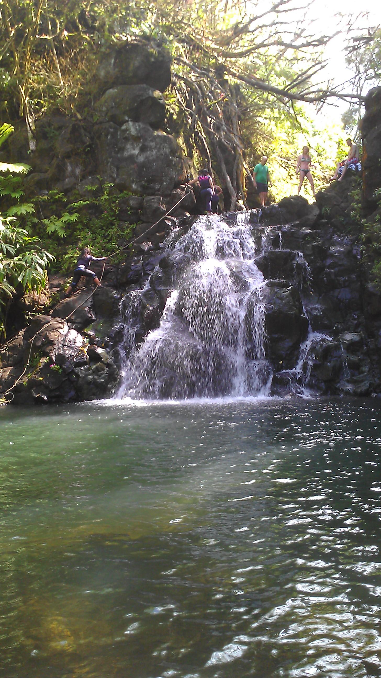 Waterfall Oahu