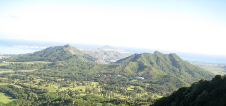 Pali Lookout View North