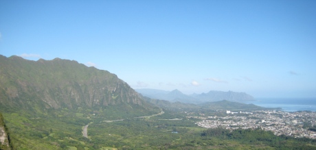 Pali Lookout View East